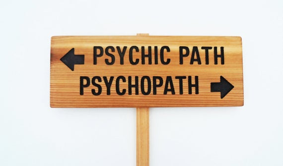 Psychic Sign - TheCommonSign