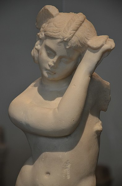 Statue of Hypnos, 2nd century AD (National Archaeological Museum of Spain, Madrid)