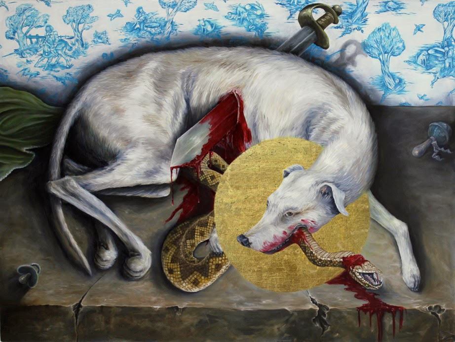 The Death and Beautification of St Guinefort - Chris Musina